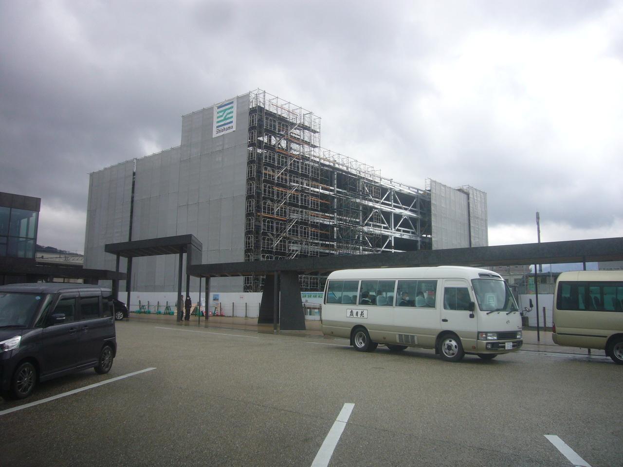 建設中の新幹線敦賀駅 H31.3.16