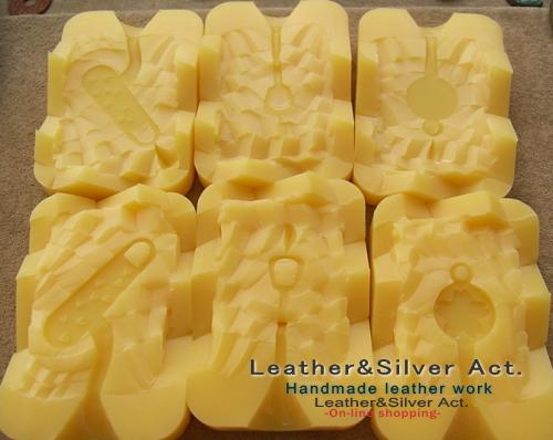 彫金 ゴム型 キャスト シルバー