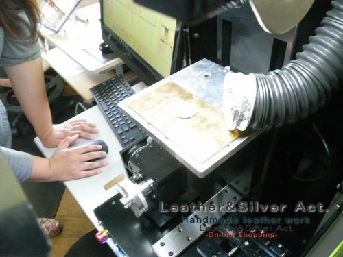 レーザー彫り 金属