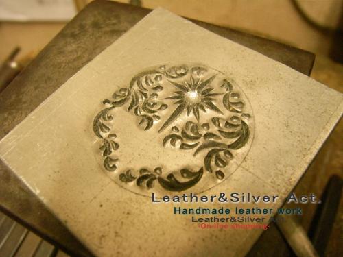 タガネ 彫り 彫金 制作