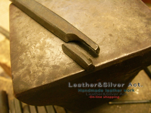 タガネ 彫金 焼き入れ 工程