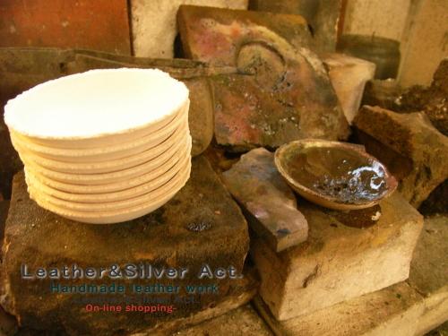 彫金 チョコ皿