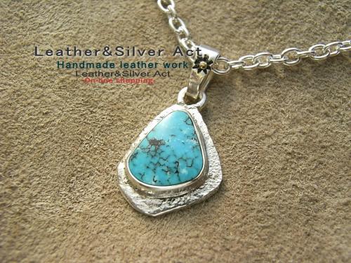 トルコ石ネックレス
