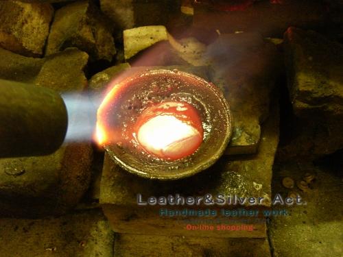 鋳造 ワックス シルバー