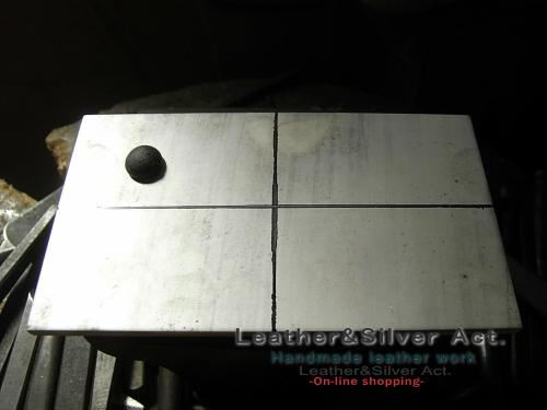 シルバーバックル 純銀 フェザー オーダーメイド