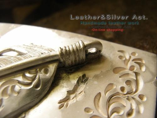 シルバーバックル オーダーメイド 純銀