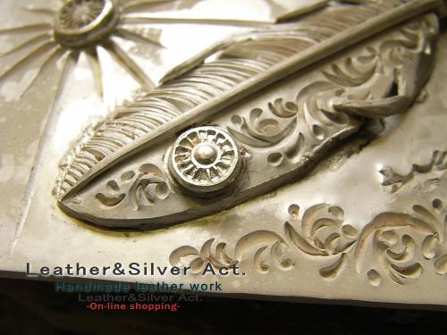 シルバーバックル オーダーメイド ご注文 純銀