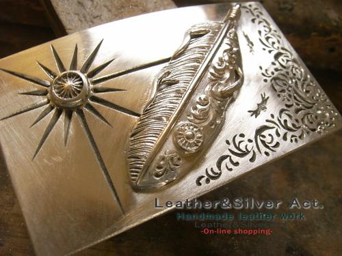 バックル オーダー 製作 純銀