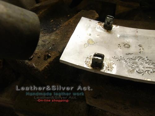 バックル シルバー オーダー 純銀