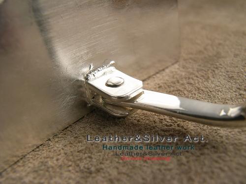 ベルト オーダーメイド 製作 純銀