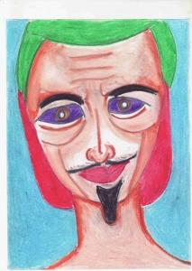 アラビアンナイト、魔法使いの肖像画。