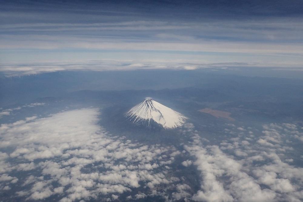 富士山上空s