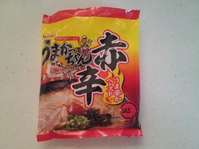 九州の味ラーメン うまかっちゃん 赤辛