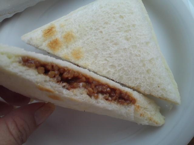 ランチパック「焼そば&静岡県産わさび入りマヨネーズ風味」