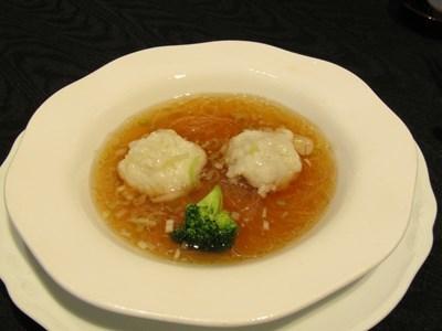s-鱧の蒸しもの 野菜ソース