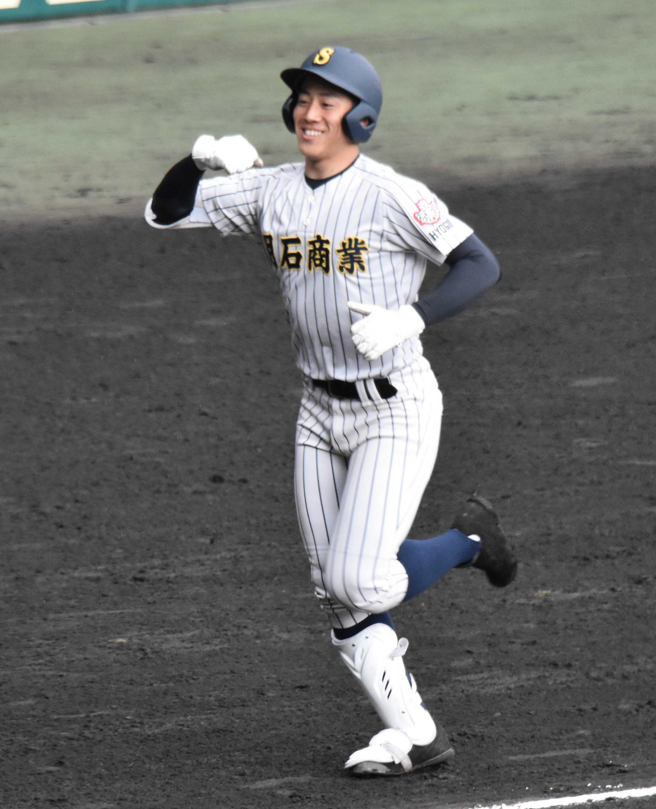 20190331明石商 来田2