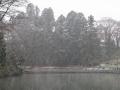 雪の五色沼