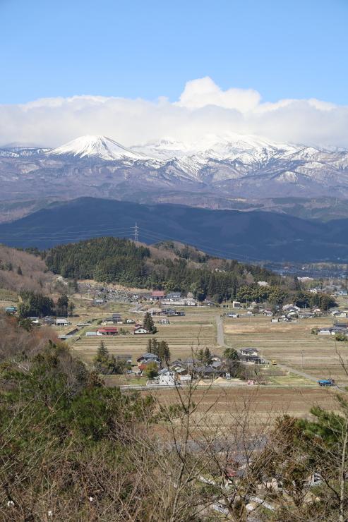 大森城山からの眺望