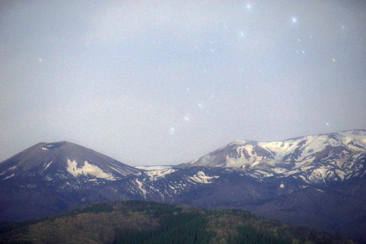 吾妻山とM42