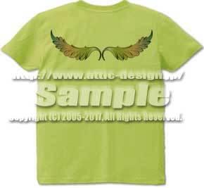 T-shirt Rock wing