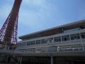 190505ポートタワーの横にKiss FM KOBE