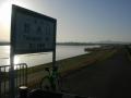 190420琵琶湖湖岸から野洲川堤防へ