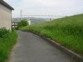190512京阪鉄橋手前で木津川離脱