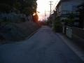 190601小関越して大津に入ったら日の出