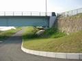 190601橋の下から回り込んで野洲川左岸へ
