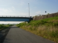 190601橋に通る一般道をパスしていく