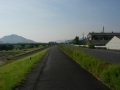 190601野洲川大橋で自転車道はいったん終わり