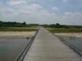 190601流れ橋を押し歩いて自転車道に合流