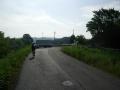 190609京都八幡木津自転車道の南の起点、泉大橋