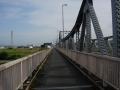 190609泉大橋で木津川を渡り対岸へ