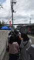 190429土方歳三資料館開館前の待ち列