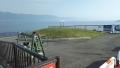 190601湖岸から野洲川への入り口全景
