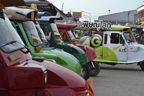 tuk-tuk at Phitsanulok