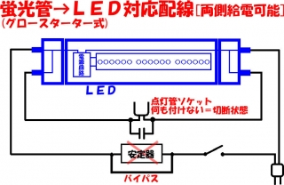 C_LIGHT2_18_回路_直管_LEDランプ対応配線TYPE1b