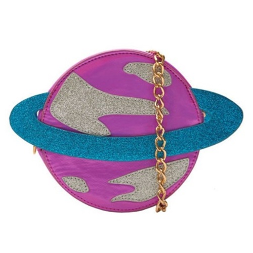 PINK PLANET CROSS BODY BAG111