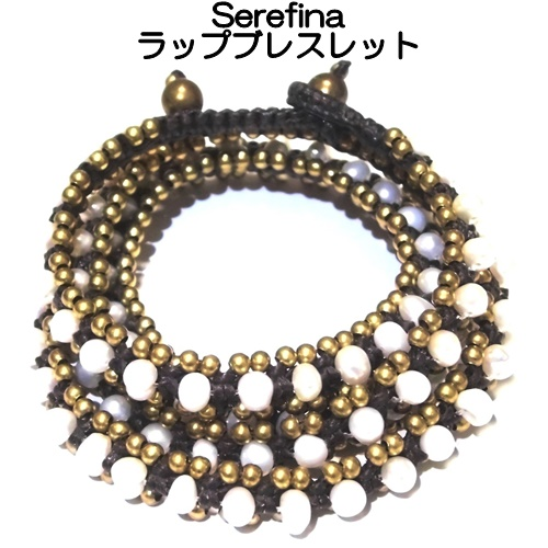 B7200 triple wrap bracelet pearl (2)11