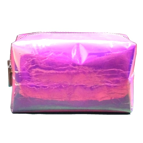 Pink Holo Make Up Bag (6)111