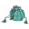 Palomi Pouch charcoal turquoise2 (2)11