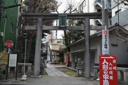 20190314銀杏岡八幡神社01