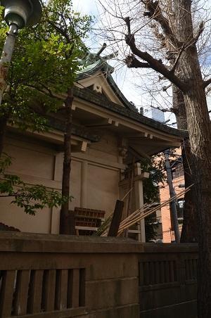 20190314銀杏岡八幡神社15