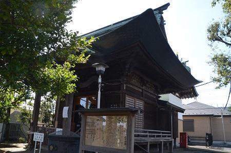 20190318久が原東部八幡神社11
