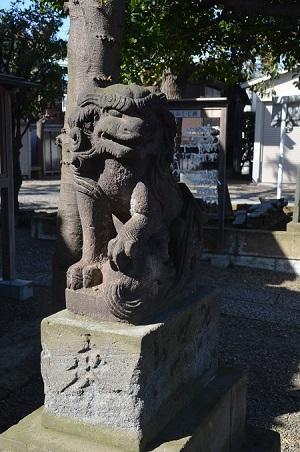 20190318久が原東部八幡神社14