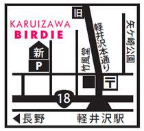 KARUIZAWA BIRDIE地図