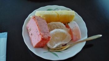 桜色のケーキ