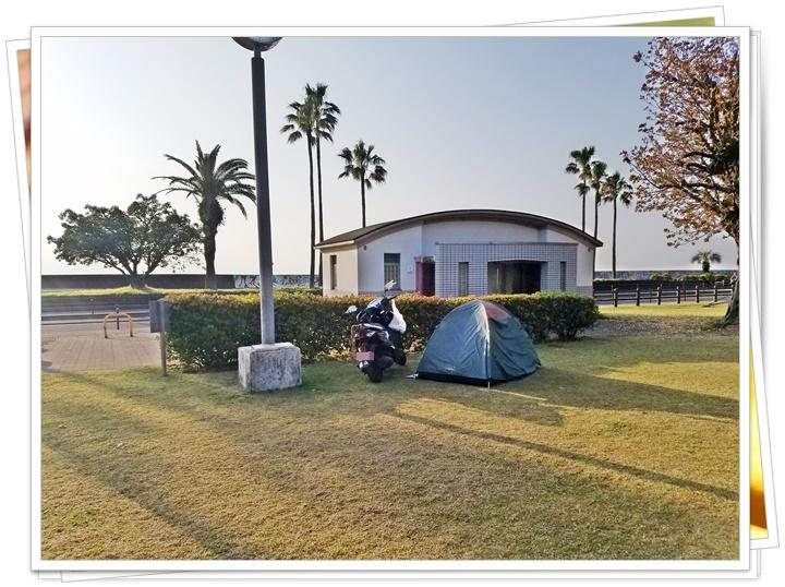 公園ソロキャンプ