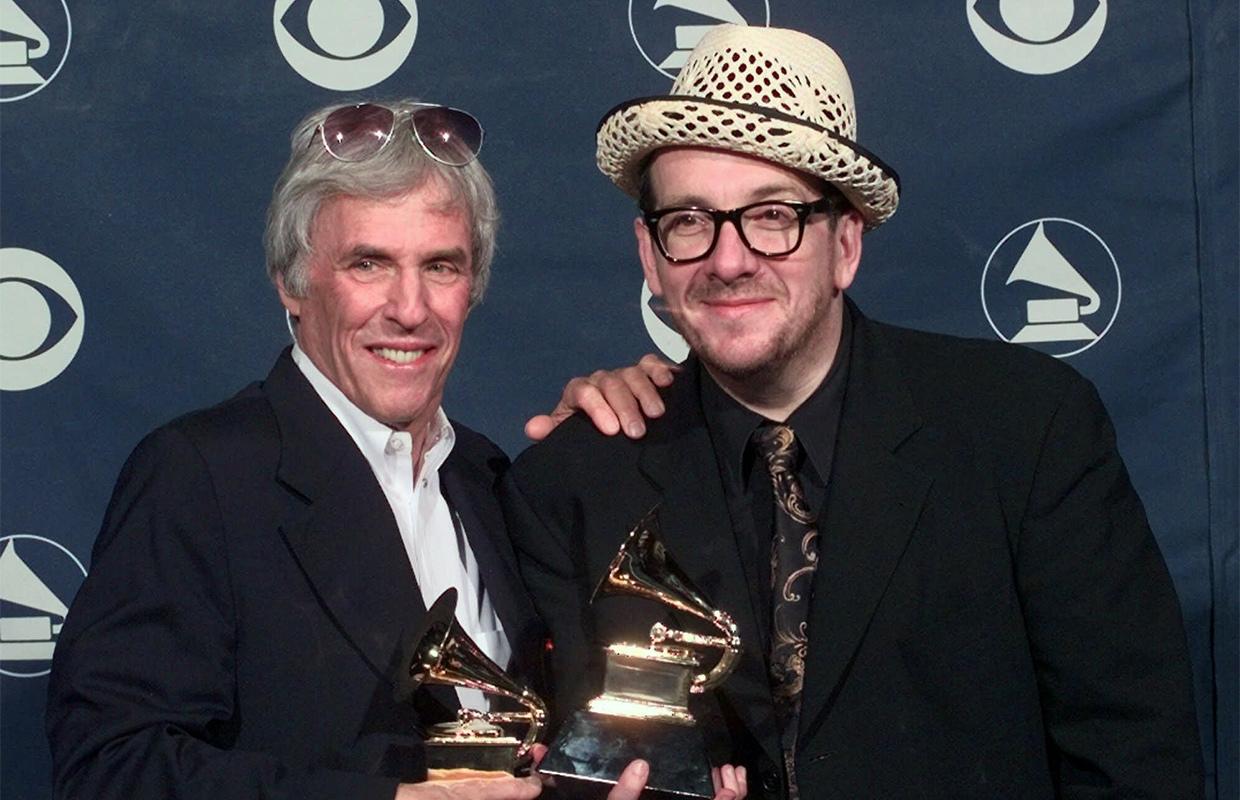 Costello Bacharach at Grammy